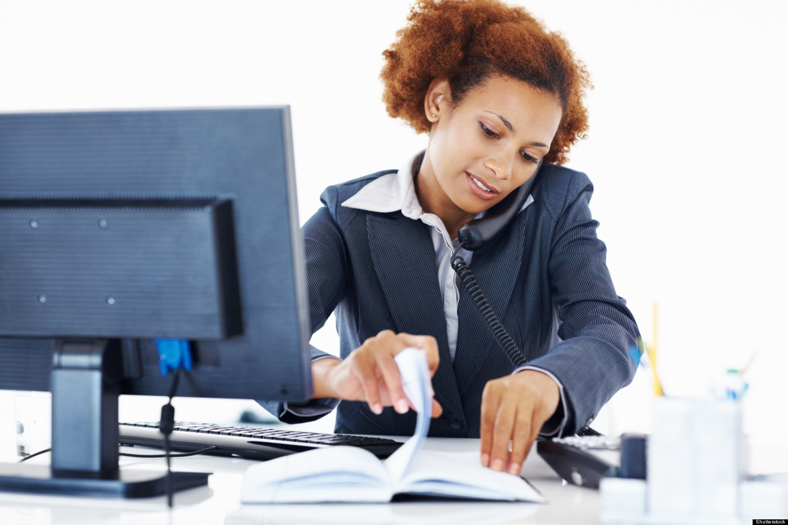black-woman-working